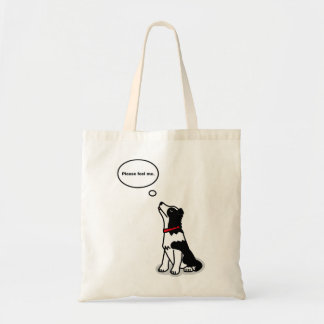 Touching! Border collie bag