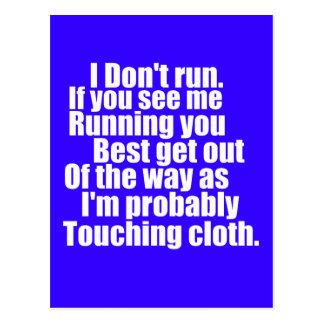 Touching Cloth Postcard
