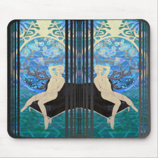 touching color doubled ver. 4 mouse pad