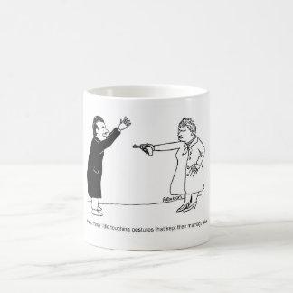 Touching gestures mug