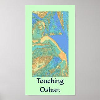 Touching Oshun Poster Print