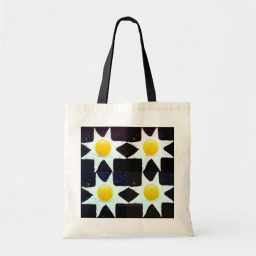 """Touching-Stars Egg Bag"" Budget Tote Bag"
