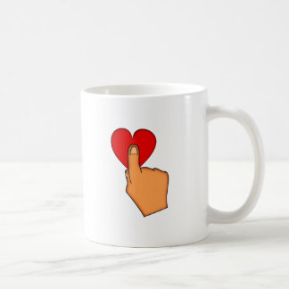 Touching the affect the heart heart mug