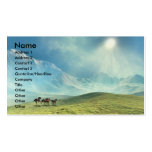 TOUCHING  THE  CLOUDS  BUSINESS  CARD Double-Sided STANDARD BUSINESS CARDS (Pack OF 100)