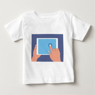 Touchscreen pad baby T-Shirt