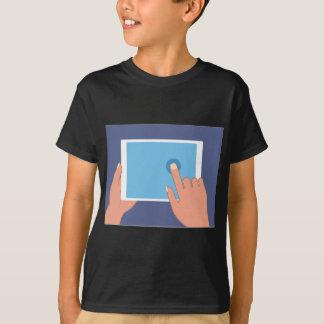 Touchscreen pad T-Shirt
