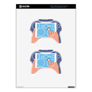 Touchscreen pad xbox 360 controller decal