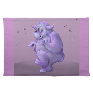 TOUFFIN ALIEN MONSTER  PLACEMAT CLOTH
