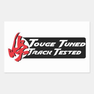 Touge adaptó la pista probada rectangular altavoz
