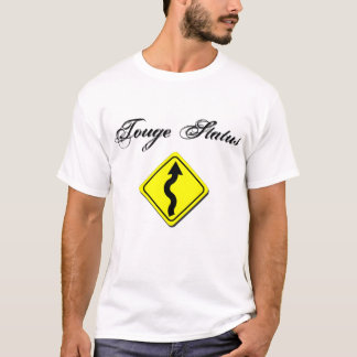 Touge Status Drift Tshirt white