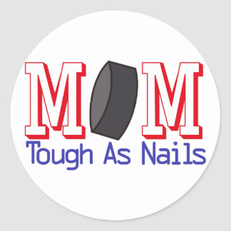 Tough as Nails Classic Round Sticker