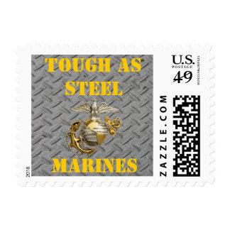 TOUGH AS STEEL USMC POSTAGE