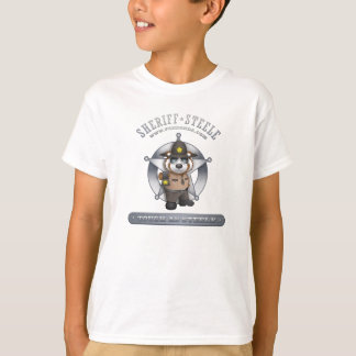 Tough As Steele (Sheriff Steele) T-Shirt