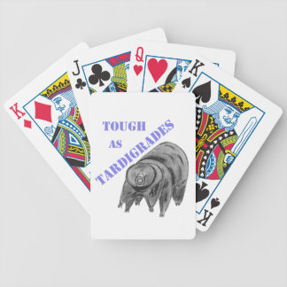 Tough as Tardigrades Bicycle Playing Cards