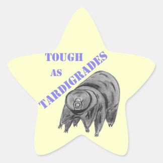 Tough as Tardigrades Star Sticker