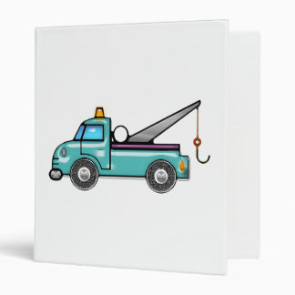 Tough Blue Tow Truck Binder