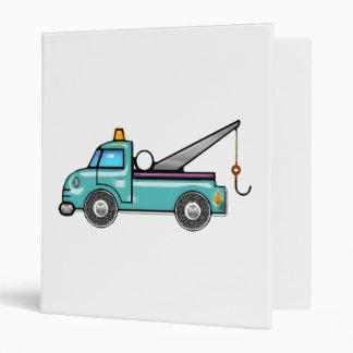 Tough Blue Tow Truck Binder