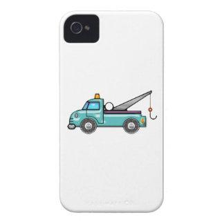Tough Blue Tow Truck iPhone 4 Case-Mate Case