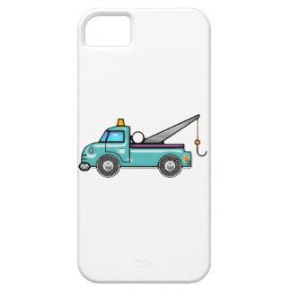 Tough Blue Tow Truck iPhone SE/5/5s Case