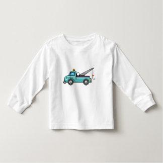 Tough Blue Tow Truck T Shirt