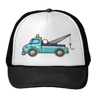 Tough Blue Tow Truck Trucker Hat