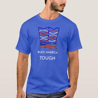 Tough Build America Men's Basic T-Shirt