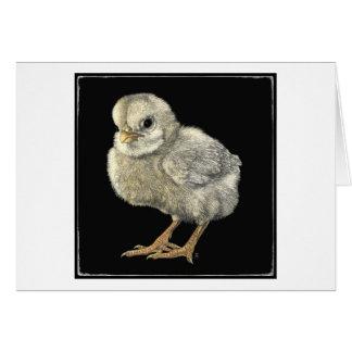 """Tough Chick"" Card"