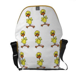 Tough Chick Messenger Bag