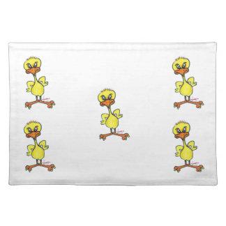 Tough Chick Placemat Cloth Place Mat