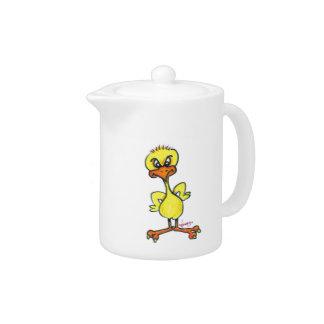 Tough Chick Teapot