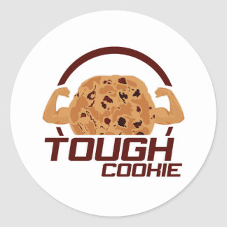 Tough Cookie Classic Round Sticker