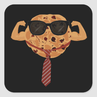 Tough Cookie - Cool Square Sticker