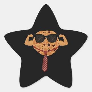 Tough Cookie - Cool Star Sticker