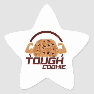 Tough Cookie Star Sticker