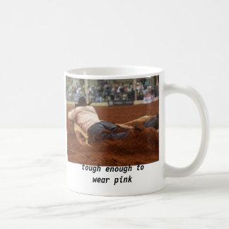 tough enough to wear pink coffee mug