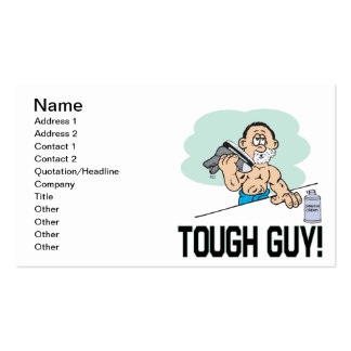 Tough Guy Business Card