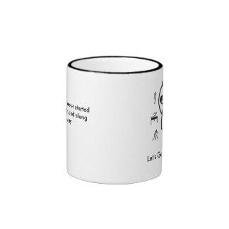 Tough Guy Coffee Mug. Ringer Coffee Mug