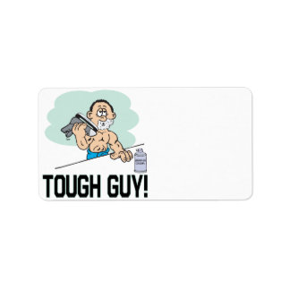 Tough Guy Label