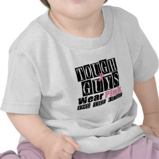 Tough Guys Wear Pink For The Cure Tee Shirt