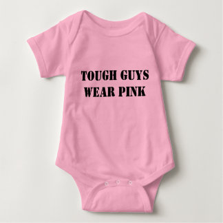 tough guys wear pink tee shirt