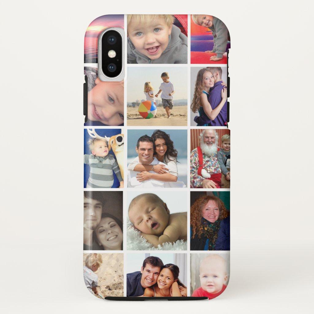 Tough iPhone Instagram photo collage case