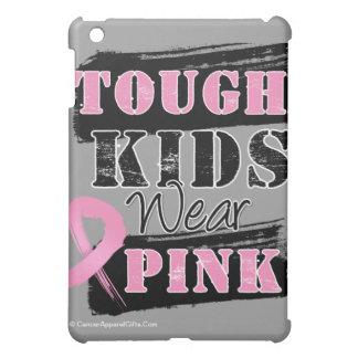 Tough Kids Wear Pink - Breast Cancer Awareness iPad Mini Case