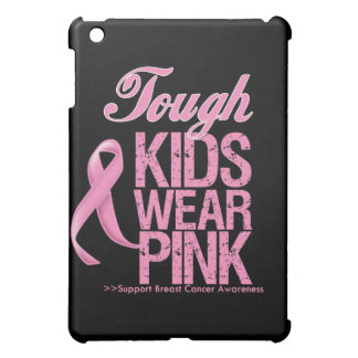 Tough Kids Wear Pink Cool Breast Cancer Case For The iPad Mini