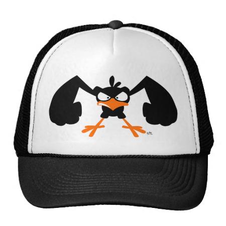 Tough lil' birdie :) trucker hat