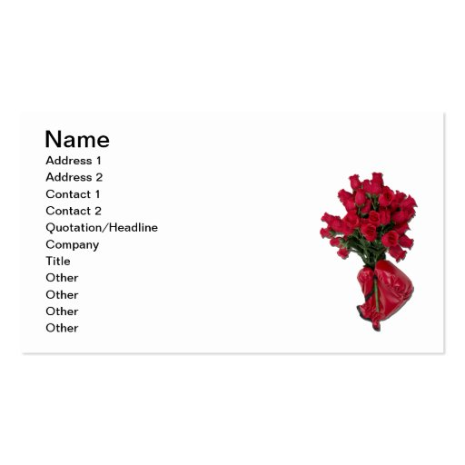 Tough Love Roses Business Card