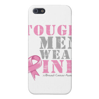 Tough Men Wear Pink Cover For iPhone 5