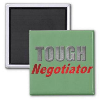 Tough Negotiator 2 Inch Square Magnet