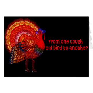 Tough Old Bird Stationery Note Card