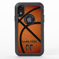 Tough Otterbox Personalized Basketball Phone Case