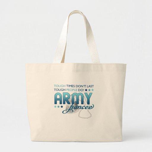 Tough People Army (Fiancee) Jumbo Tote Bag